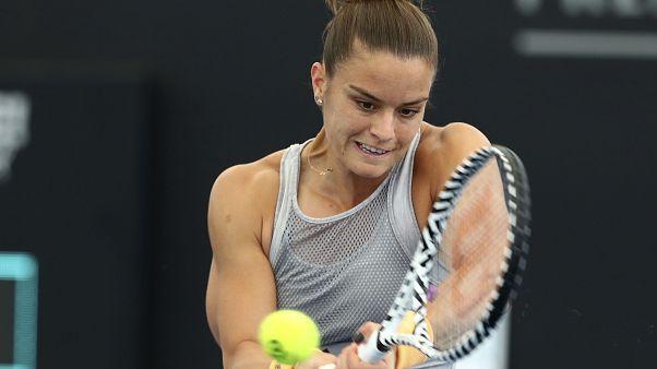 Maria Sakkari Brisbane International tennis tournament