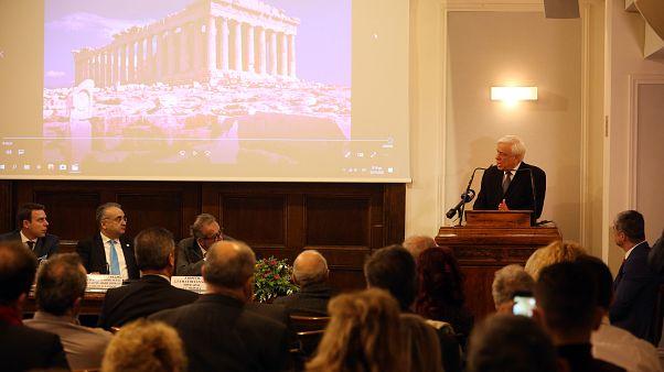Πρ.Παυλόπουλος: Ηθικώς επιβεβλημένος ο αγώνας για επαναπατρισμό των Γλυπτών του Παρθενώνα