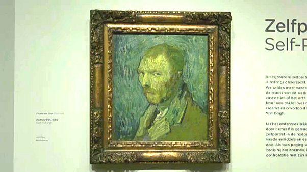 Megoldódott a rejtély, eredeti Vincent van Gogh oslói önarcképe