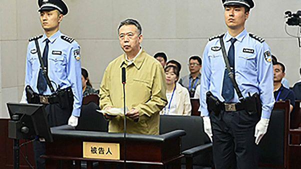 13 év börtönbüntetésre ítélték a volt Interpol vezért Kínában
