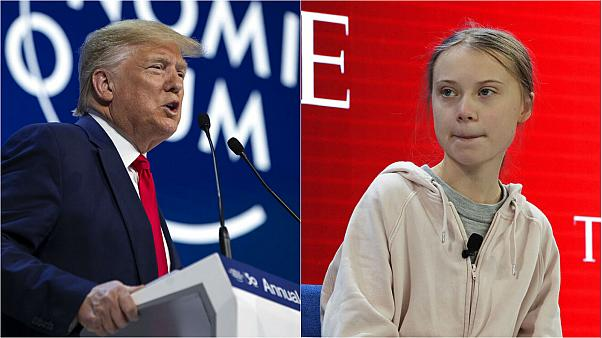 Davos 2020: Donald Trump and Greta Thunberg clash on climate at World Economic Forum
