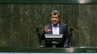 Ahmad Hamzeh in parliament