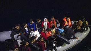 Illegális határátlépők szeptember 26-án, miután a görög parti őrség feltartóztatta őket