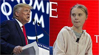 Davos: Greta vs Donald