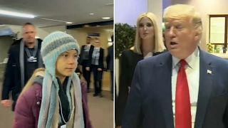 Trump gegen Greta beim Weltwirtschaftsgipfel in Davos