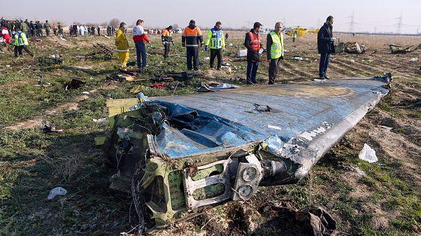 Tahran'da düşürülen Ukrayna uçağında 176 kişi hayatını kaybetti
