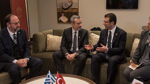 Συνάντηση του δημάρχου Θεσσαλονίκης με τον Εκρέμ Ιμάμογλου