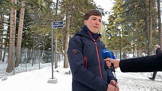 """""""Klimahelden"""" in Davos: Fionn Ferreira (18) kämpft gegen Mikroplastik"""