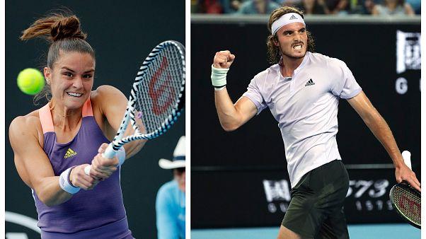 Australian Open: Χωρίς αγώνα στον Γ' Γύρο ο Τσιτσιπάς - Νίκη πρόκριση για την Σάκκαρη