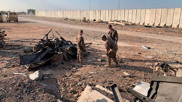 چند آمریکایی دیگر برای بررسی آسیب ناشی از حمله ایران از عراق منتقل شدند