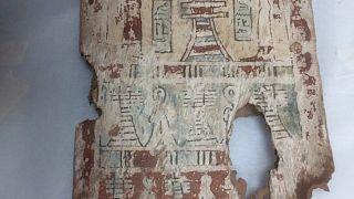 صورة لقطعة أثرية مصرية كانت قد هُربت بشكل غير قانوني