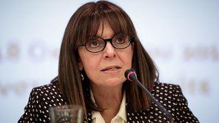 اليونان تنتخب القاضية إيكاتيريني ساكيلاروبولو أول إمرأة رئيسة للبلاد