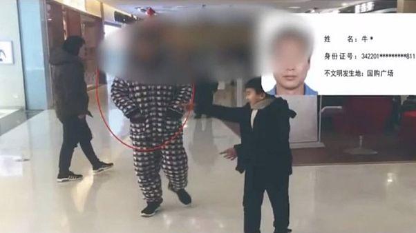 Çinli belediye vatandaşların pijamalı fotoğraflarını yayınladığı için özür diledi