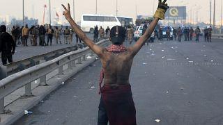 Irak'taki hükümet karşıtı göstericiler