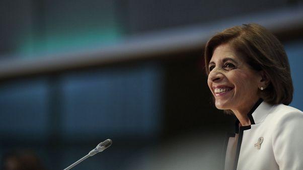 Πρώτη επίσημη επίσκεψη της Στέλλας Κυριακίδου στην Αθήνα