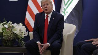 Donald Trump realiza una rueda de prensa en Davos