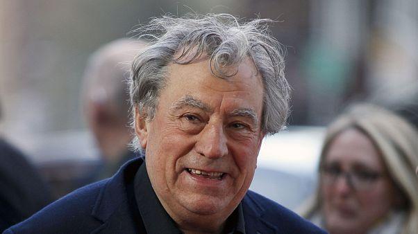 Terry Jones durante un homenaje a Monty Python en el Festival de Tribeca de Nueva York en 2015
