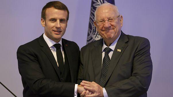 روسای جمهوری فرانسه و اسرائیل