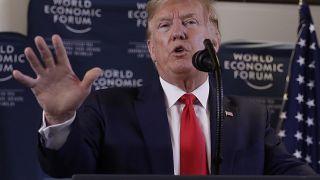 US-Präsident Donald Trump während der Pressekonferenz