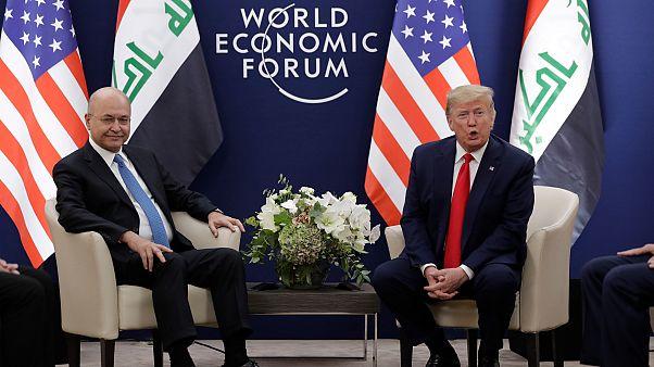 Trump ile Salih, Irak'taki ABD askerinin varlığını konuştu; ABD çekilmeyi düşünmüyor