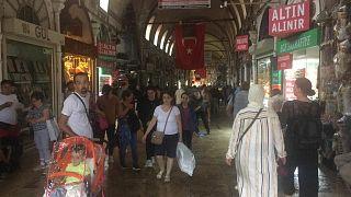 İstanbul'daki tarihi Kapalıçarşı