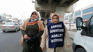Hava Harp Okulu öğrencisi Taha Furkan Çetinkaya'nın annesi Melek Çetinkaya