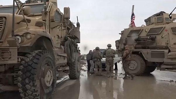 Американские военные развернули патруль РФ в Сирии