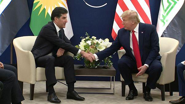 نچیروان بارزانی به ترامپ: در کنار یکدیگر داعش را شکست دادیم