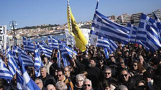 اعتراض گسترده جزیرهنشینان یونان به حضور مهاجران؛ جزایرمان را برگردانید