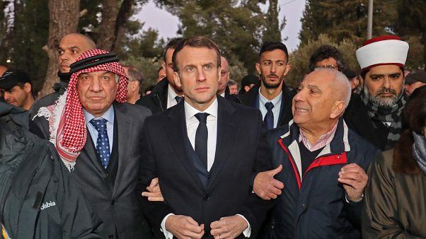 Fransa Cumhurbaşkanı Macron'un İsrail ziyareti