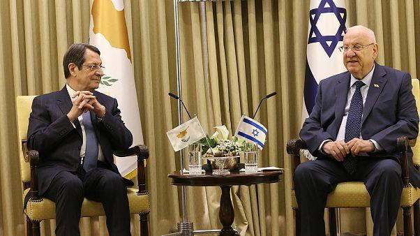 Ο Πρόεδρος της Δημοκρατίας, Νίκος Αναστασιάδης σε συνάντηση με τον Πρόεδρο του Ισραήλ, Reuven Rivlin