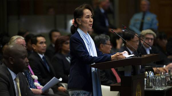 Aung San Suu Kyi previously addressed the International Court of Justice