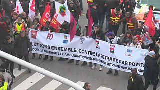 La reforma del sistema de pensiones, segunda gran crisis para Macron