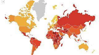 Küresel Yolsuzluk Algı Endeksi raporu