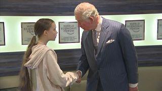 Принц Чарльз под впечатлением от встречи с Тунберг