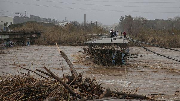 Pedro Sánchez conmocionado al ver el Delta del Ebro