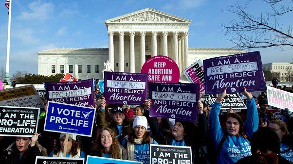 مظاهرات ضد حق الإجهاض في الولايات المتحدة