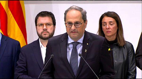El Tribunal Supremo español mantiene la inhabilitación del presidente catalán como diputado