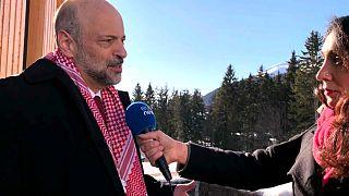 Ürdün Başbakanı Ömer Rezzaz Davos'ta euronews'e konuştu
