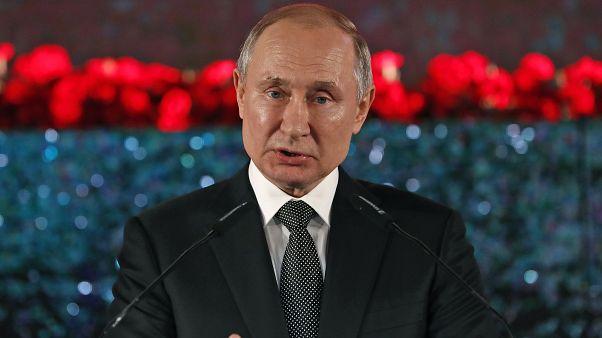 O πρόεδρος της Ρωσίας, Βλαντιμίρ Πούτιν