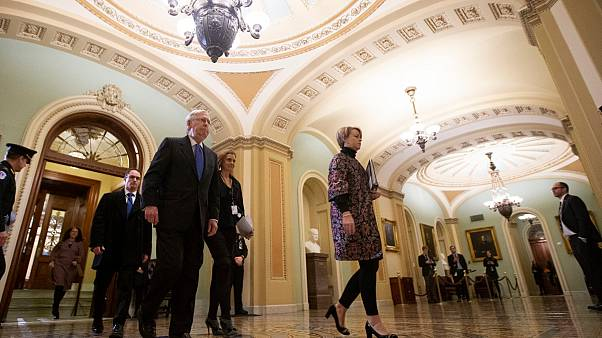 Trump'ın Senatodaki azil yargılamasında 3. gün sona erdi