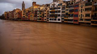 Gloria kasırgası nedeniyle İspanya'da 11 kişi öldü