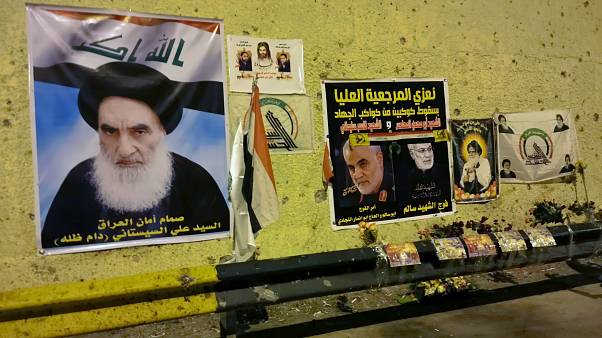 صور لسليماني وقادة إيرانيين في العراق