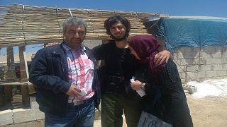 Osman ve Gülay T. çifti oğulları Burak ile birlikte