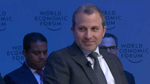 جبران باسيل - وزير الخاجرية اللبناني السابق - منتدى دافوس الاقتصادي 2020