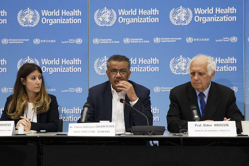 Sede de la Organización Mundial de la Salud (OMS) en Ginebra, Suiza, el miércoles 22 de enero de 2020.