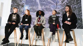 غريتا تونبرغ: تنتقد المشاركين في منتدى دافوس لتجاهلهم قضية المناخ