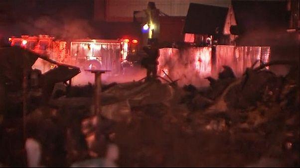 Gewaltige Explosion: Erschütterungen in weiten Teilen von Houston (Texas) spürbar