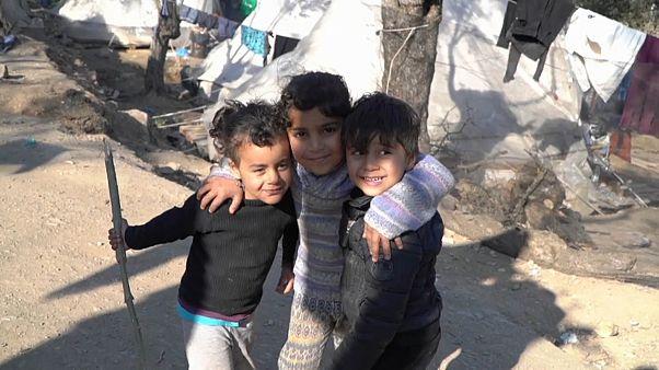 В лагере Мория больные дети остаются без лечения