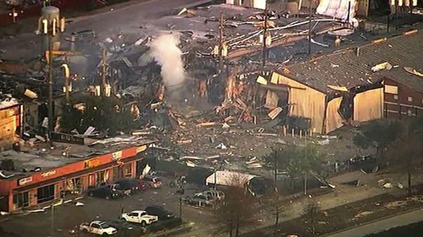 انفجاری مهیب در یک کارخانه هیوستون ایالت تگزاس را لرزاند